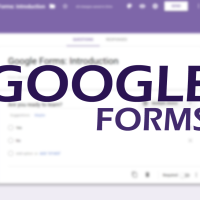 Creating a Basic Google Form