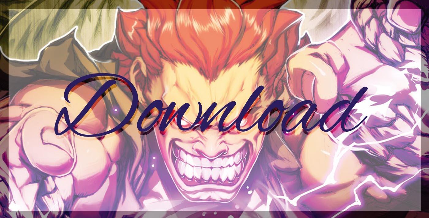 Download Button - Akuma